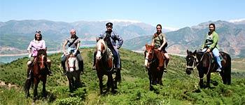 Конно-верховой тур по Западному Тянь-Шаню