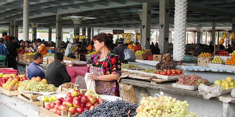 Базары Узбекистана