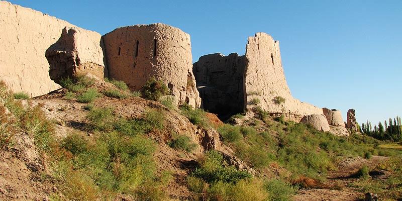 Городище Топрак-кала